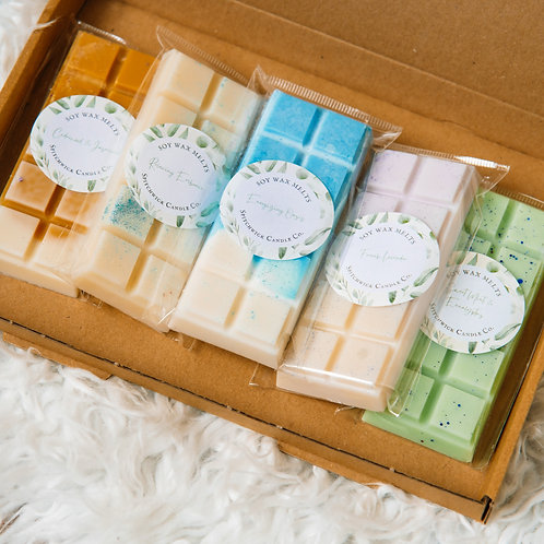 Essential Oils Wax Melts Collection