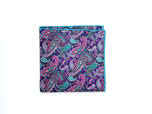 Pink & Teal Paisley
