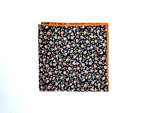 Navy & Orange Floral