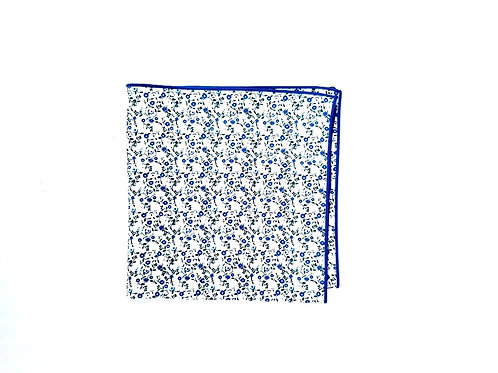 Blue & White Floral