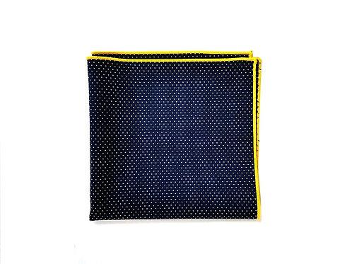 Navy & Yellow Polka Dots