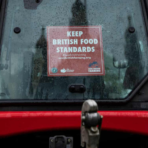UK food standards: why No 10's lack of commitment is making farmers furious