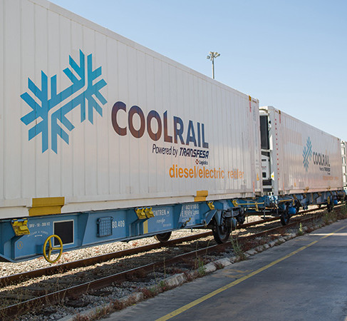 Transfesa Logistics and EPS to expand CoolRail rail freight service
