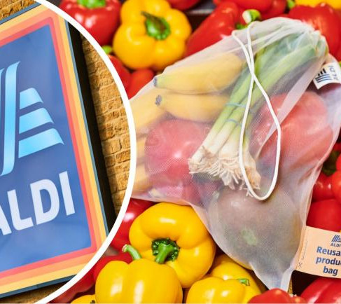 Aldi: No more single-use bags for fruit and vegetables