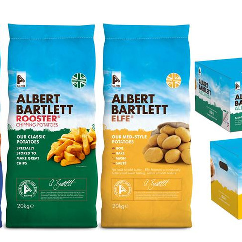 Nationwide Produce and Albert Bartlett partner together on new range of potatoes