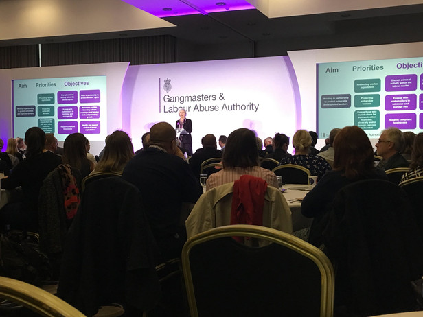 GLAA Chair honoured with OBE for tackling modern slavery