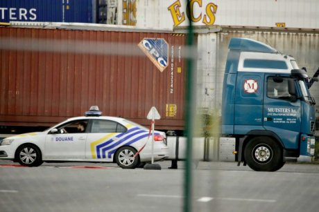 Belgian police find 12 people in fruit and veg lorry