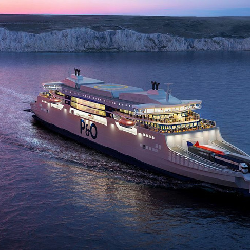 P&O to luanch hybrid-electric 'super ferries'