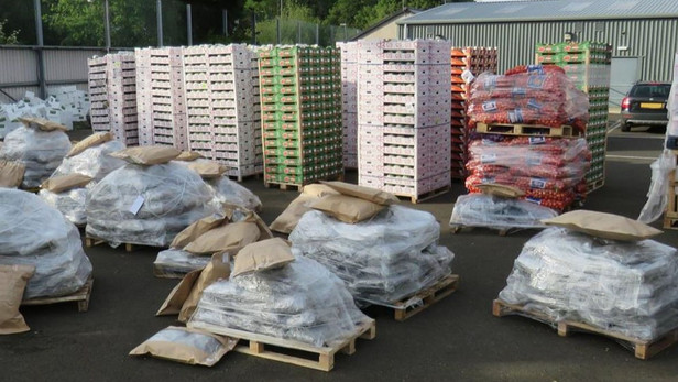 Herbal cannabis worth £12m found disguised as vegetable delivery