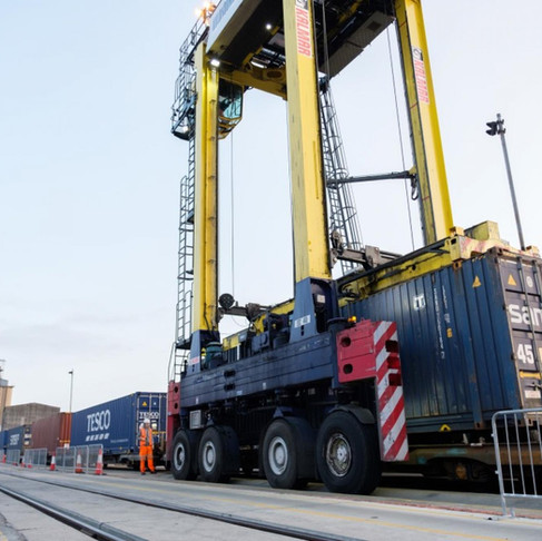 HS2 will enhance rail freight usage at UK ports