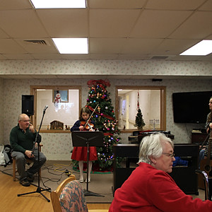 Students Perform at Portland Care & Rehab