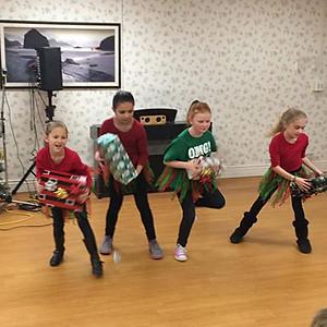 Dancers Perform at Portland Care & Rehabilitation Center