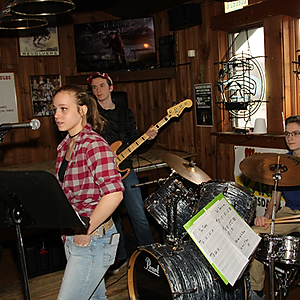 Band Jam at the Winchester Cafe