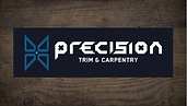 This is the Precision Trim and Carpentry Logo