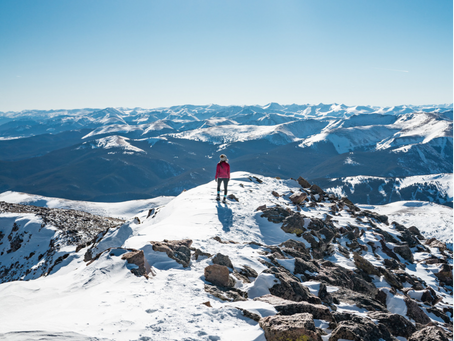 Hiking Your First Winter 14er