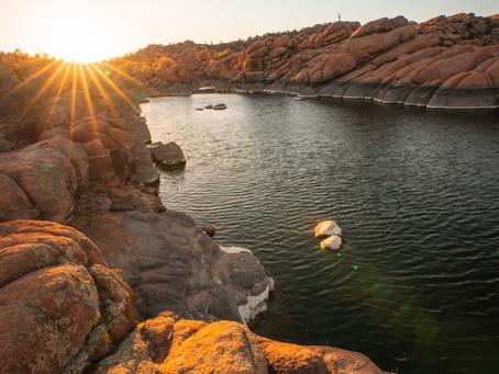 A Weekend at Watson Lake, Prescott Arizona