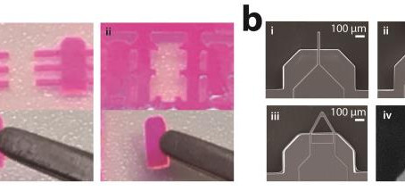 Microfluidic fabrication approach for atomic force microscope cantilevers with photocurable resins