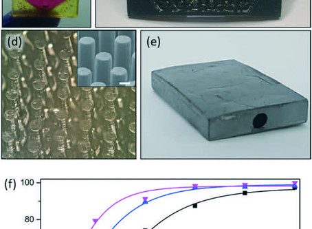 3D-printed monolithic SiCN ceramic microreactors from a photocurable preceramic resin for the high t