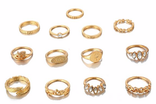 Care-Free Ring Set