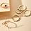 Thumbnail: Aztec Ring Set