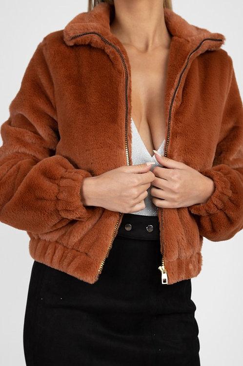 Cozy Faux Fur Jacket