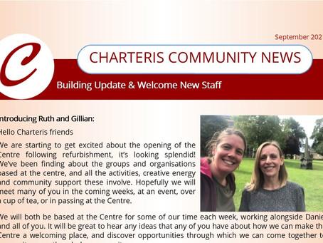 September News from the Charteris Team!