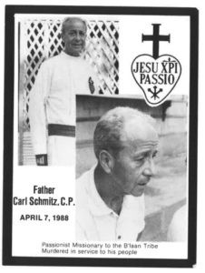 """""""Standing up to others for the social message of the Gospels"""" Carl Schmitz (+1988, Philippines)"""