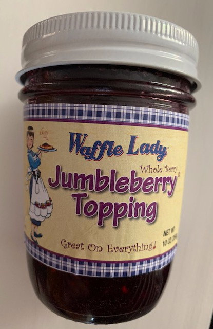 JUMBLEBERRY WHOLE BERRY TOPPING