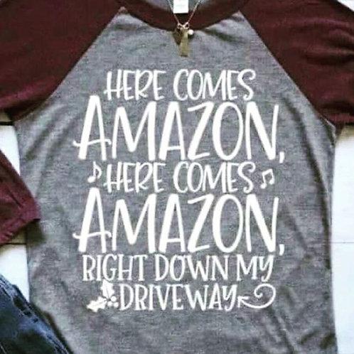 Here comes Amazon, Here comes Amazon