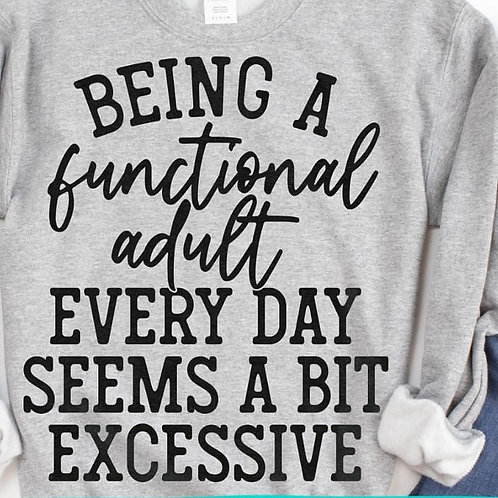 Being a Functional Adult...