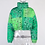 Thumbnail: Bandana Print Midriff Puffer Bubble Coat