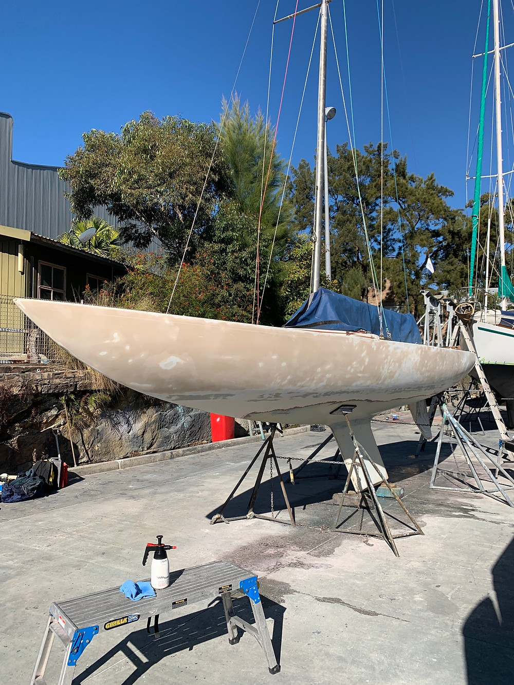Unwrapped The Etchells sailing boat yatch