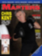 Chris Kent JKD magazine cover for Martial Arts Masters