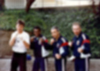 Chris Kent with Boxe Francaise-Savate National Teammembers