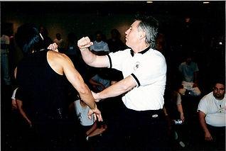 Chris Kent teaching Jeet Kune Do