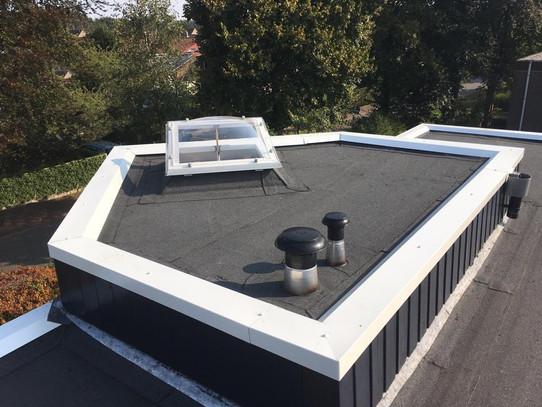 Een vernieuwd dak bij Van Der Linden
