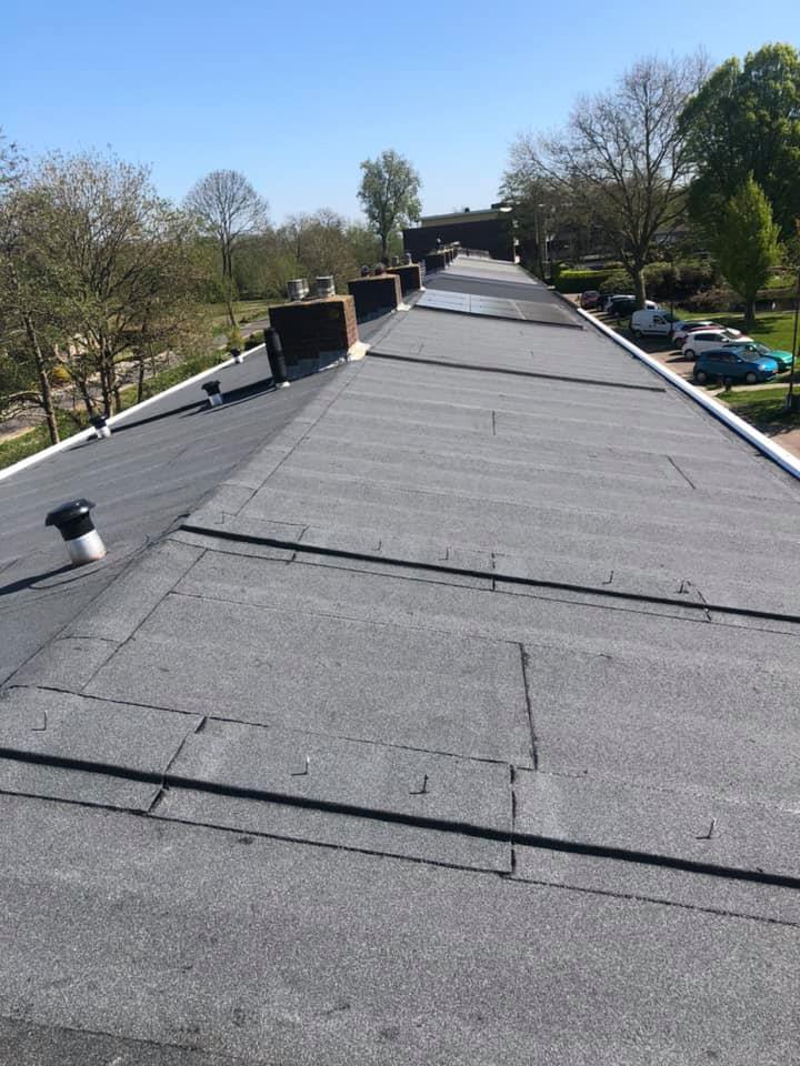 Een vernieuwd dak