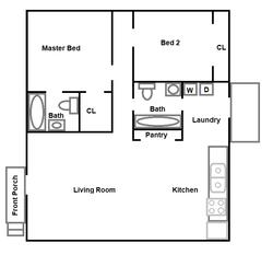 Prineville Floorplan