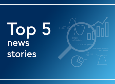 Top 5 news stories - Week of June 1st to June 7th 2020