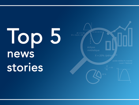 Top 5 news stories - Week of May 27th to June 2nd, 2019