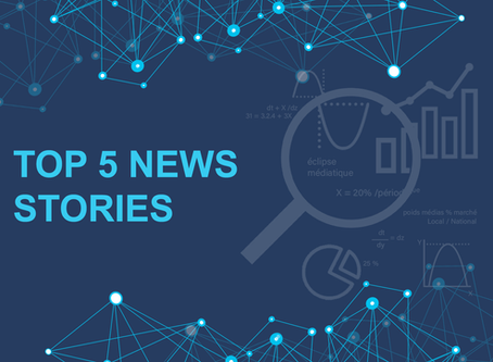 Top 5 news stories - Week of August 17th to August 23rd 2020