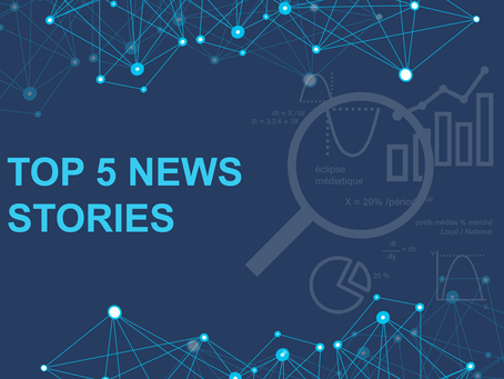 Top 5 news stories - Week of February 15th 2020 to February 21st 2021