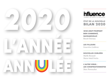 État de la nouvelle : Bilan 2020