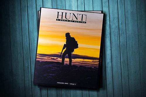 HUNT Magazine - Vol. 1 Issue.I