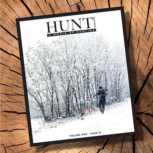 HUNT magazine - Vol.1 Issue.II