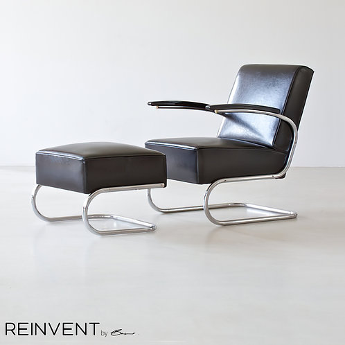 Maria Lange Cantilever Lounge Set with Footrest