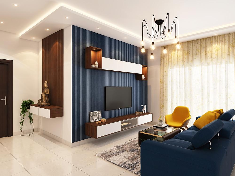Acabado de interiores para casa de lujo MIC Multiservicios