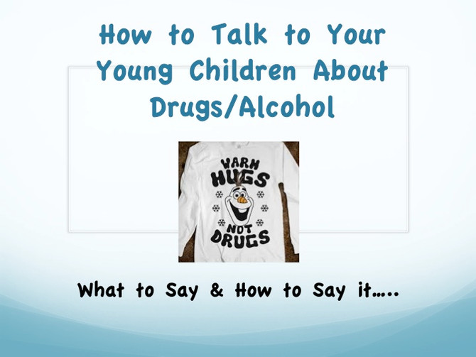 How to Talk to Your Young Kids About Drugs & Alcohol