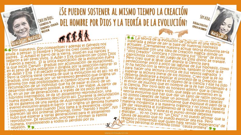 ¿#Creación o #evolución? ¿pueden convivir ambas?