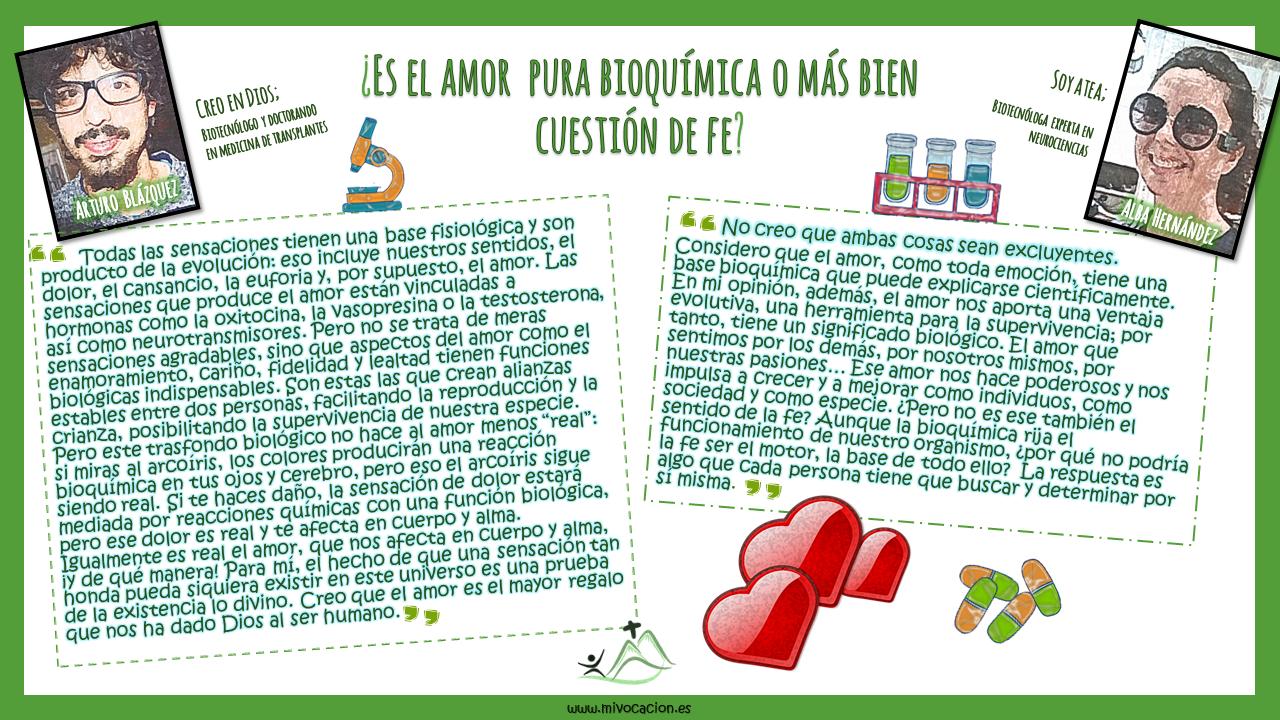 ¿Qué es el #amor?❣ ¿Pura #bioquímica o cuestión de #fe?